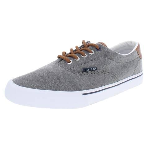 Tommy Hilfiger Mens Phero Sneakers Low Top Linen