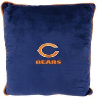 NFL Chicago Bears Licensed Pillow. Comfortable, Soft-Plush Top-Quality for Pets, Kids, Sofa
