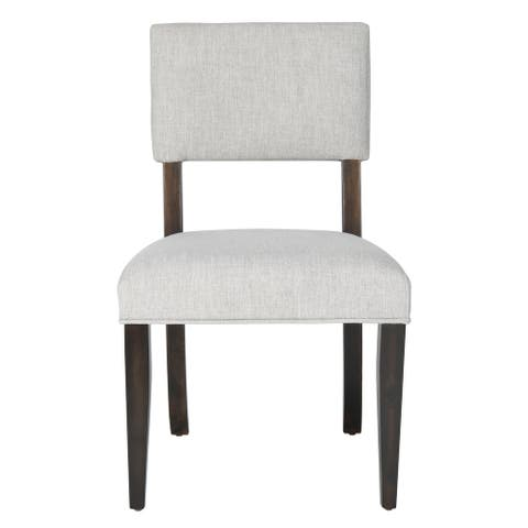 """Safavieh Couture Luis Wood Dining Chair (Set of 2) - 21"""" W x 20.5"""" L x 34.75"""" H"""