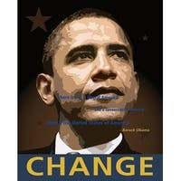 ''Obama: Change'' by Anon African American Art Print (20 x 16 in.)