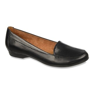 Naturalizer Womens Saban Leather Closed Toe Loafers