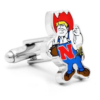 University of Nebraska Cornhuskers Vintage Logo Cufflinks - Multicolored