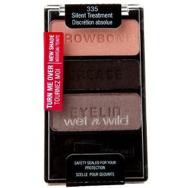 Wet n Wild Color Icon Collection Eyeshadow Trio, Silent Treatment [335], 1 ea