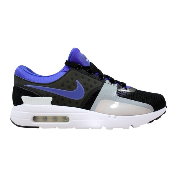 Shop Nike Men's Air Max Zero QS BlackPersian Violet White
