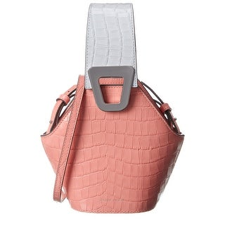 Link to Danse Lente Johnny Xs Croc-Embossed Leather Crossbody Similar Items in Shop By Style