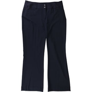 Link to Alfani Womens Two Button Curvy Dress Pants Similar Items in Pants