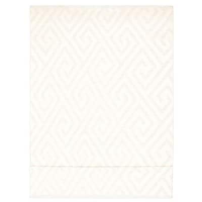 ECARPETGALLERY Flat-weave Marrakech Cream, Light Blue Wool Kilim - 9'0 x 16'0