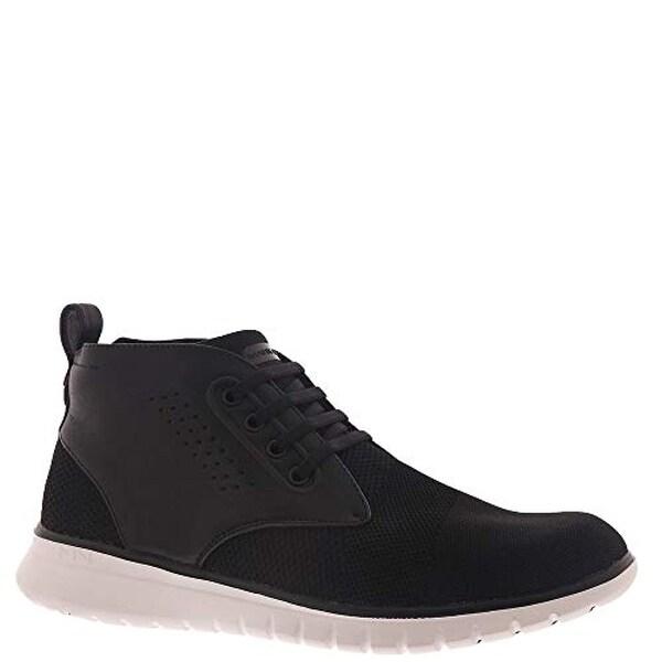 Mid Top Sneaker Boot, Black
