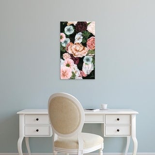 Easy Art Prints Melissa Wang's 'Noir Arrangement I' Premium Canvas Art