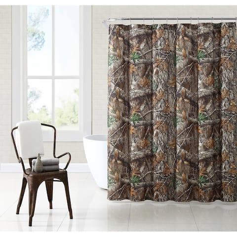 Realtree Camouflage Shower Curtain