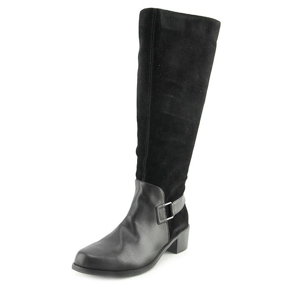 Aerosoles After Hours Women Black Boots