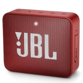 JBL GO 2 Portable Wireless Bluetooth Speaker - 4.3 x 4.5 x 1.5
