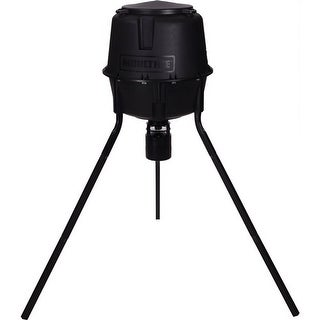 Moultrie MFG-13055 Pro Tripod Deer Feeder with Quick-Lock Modular Technology & 360° Feeding Pattern