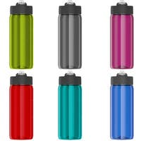 Thermos 18 oz. Eastman Tritan Flip-Up Straw Hydration Water Bottle w/ Carry Loop - 18 oz.