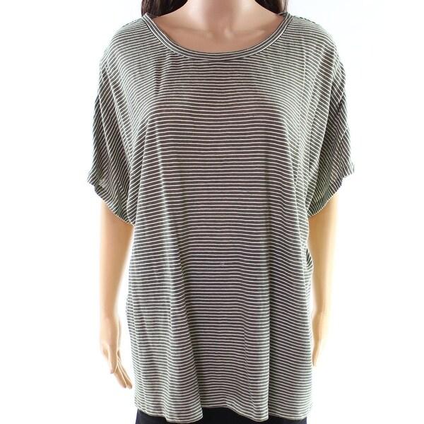 Lauren by Ralph Lauren Women's Stripe Plus Knit Top