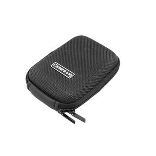 Black Pouch Air Foam Nylon Zippered Camera Bag w Strap