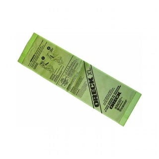 Disposable Vacuum Advanced Filtration Bags, Green - Extra Larg