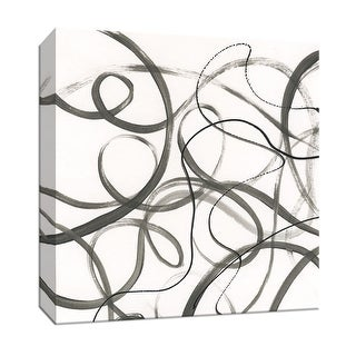 "PTM Images 9-147316  PTM Canvas Collection 12"" x 12"" - ""Dancing in the Wind I"" Giclee Abstract Art Print on Canvas"