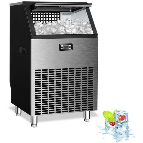 Commercial Ice Maker Machine,Freestanding Ice Cube Maker Makes - 19.99 cu ft