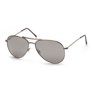 Gucci Men's Women's Unisex Aviator Sunglasses 1287/S Silver - Small