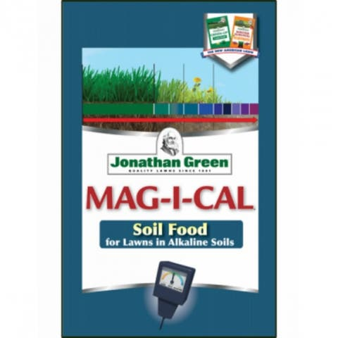 Jonathan Green 12201 MAG-I-CAL Soil Food for Lawns in Alkaline Soil, 15000 Sq.Ft
