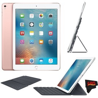 "Apple iPad Pro 9.7"" 256GB - Wi-Fi - Rose Gold + Original Apple Smart Keyboard for iPad Pro 9.7-inch MM2L2AM/A - rose gold"