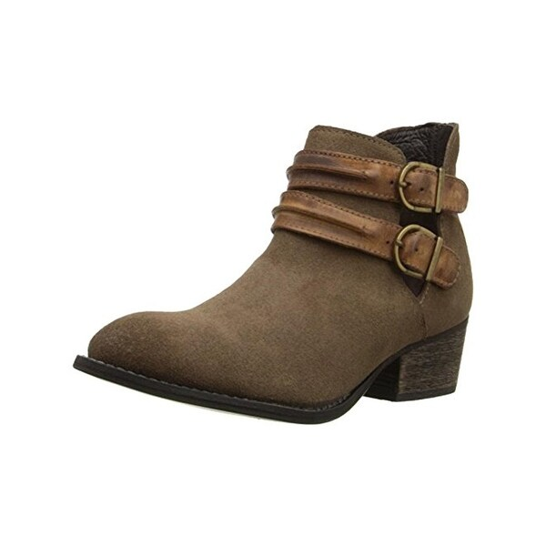 Steve Madden Womens Raskal Ankle Boots Almond Toe Booties
