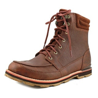 The North Face Bridgeton Boot Men  Round Toe Leather Brown Winter Boot