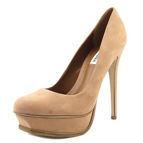 c1b47def0df Steve Madden Kiss Women Open Toe Leather Tan Platform Heel - Free Shipping  Today - Overstock.com - 24244127