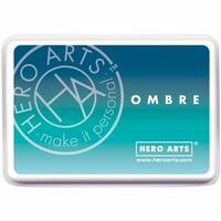 Hero Arts 128089 Ombre Ink Pad - Pool To Navy