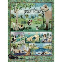 "Jigsaw Puzzle 500 Pieces 24""X18""-Dog Park"
