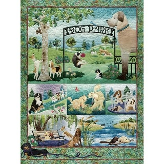 Outset Media OM52109 Jigsaw Puzzle 500 Pieces 24 x 18 in. Dog Park