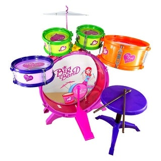Envo Toys Large Drum Play Set Toy For Kids