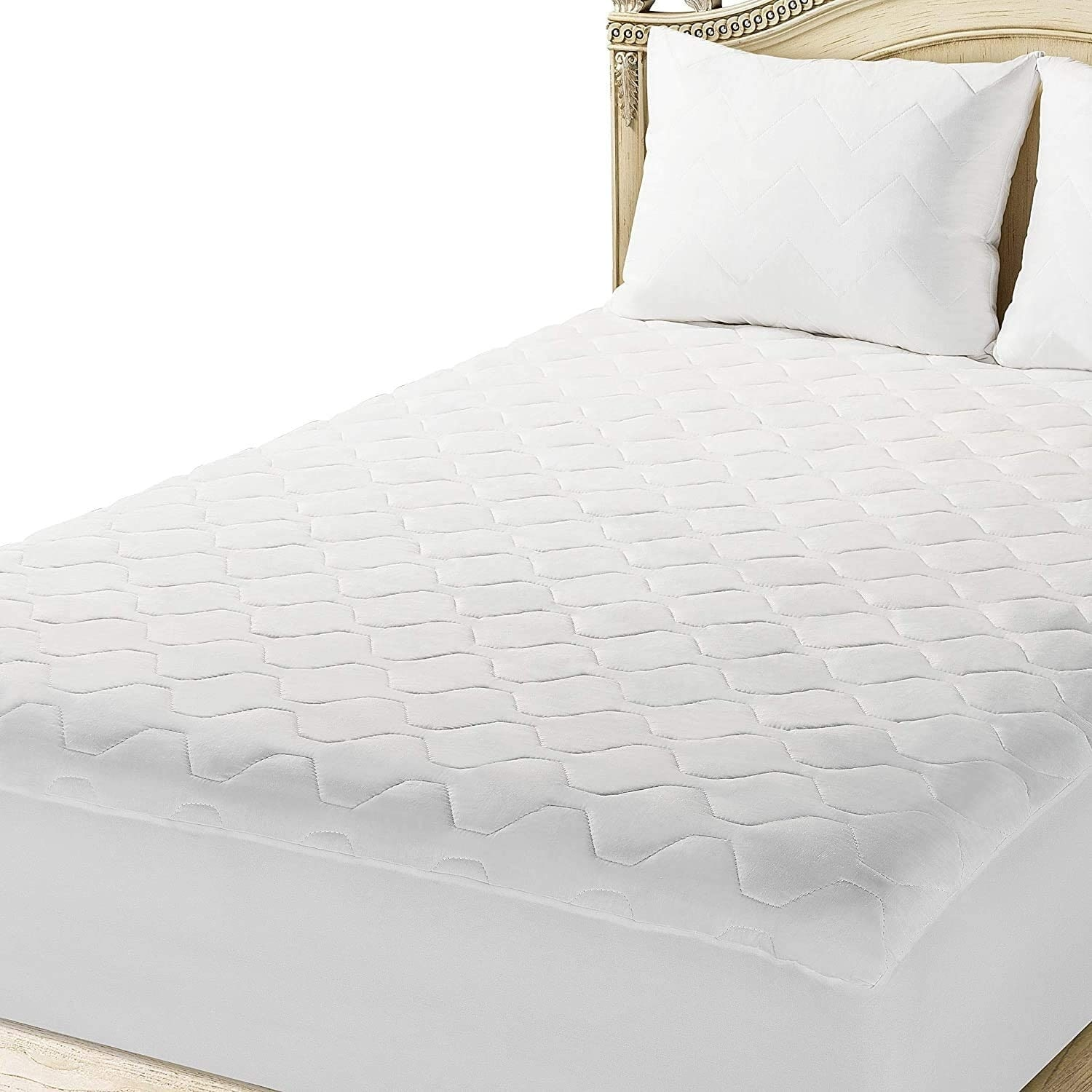 The Grand Rv Short Queen Mattress Pad Fitted Hypoallergenic Camper Queen Mattress Cover 60x75 White Overstock 32030233