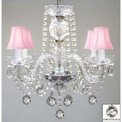 Swarovski Crystal Trimmed Chandelier Lighting Murano Venetian Style