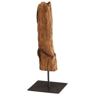 Cyan Design Gila Sculpture Gila 15 Inch Tall Wood and Iron Sculpture Made in India
