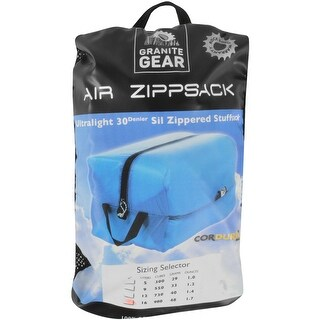 Granite Gear 16L Ultralight Sil-Nylon Air Zipsack Pouch - Blueberry