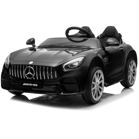 Kidzone 2 Seats Licensed Mercedes-Benz AMG GT Kid Electric Ride On Car - standard