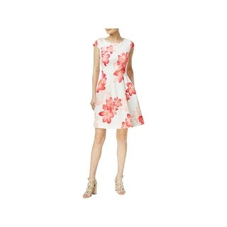 Calvin Klein Womens Petites Semi-Formal Dress Floral Pleated (5 options available)