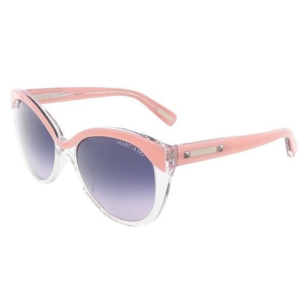 Guess by Marciano GM0710 D73 Trans Pink Cateye sunglasses