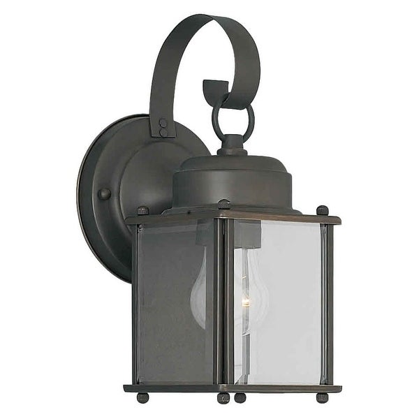 Forte Lighting 1047-01 Outdoor Wall Sconce from the Exterior Lighting Collection - royal bronze - n/a
