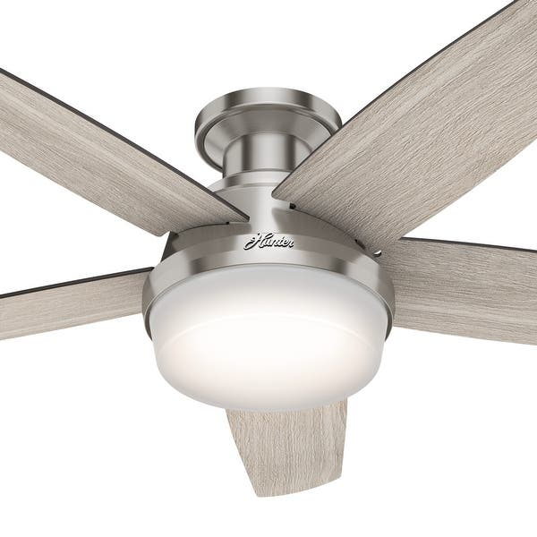 Hunter 48 Inch Avia Low Profile Ceiling Fan Overstock 30732876