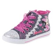 Josmo Girls Minnie Mouse Hi-Top, Blue/Pink (5 options available)
