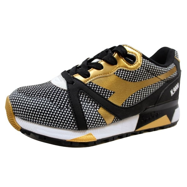 Diadora Men's N9000 Arrowhead Black 501.171099 01 80013 Size 4