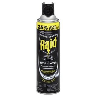 Raid 51367 Wasp & Hornet Spray, 17.5 Oz.