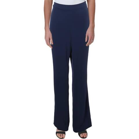 Tahari ASL Womens Dress Pants Business Office - Slate