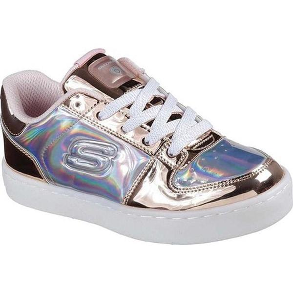 Shop Skechers Children s S Lights Energy Lights Shiny Sneaks Sneaker ... 06ce1b083202