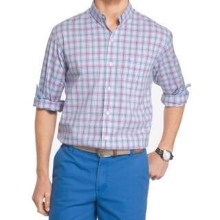 IZOD NEW Purple Mens Size Medium M Non-Iron Plaid Button Down Shirt|https://ak1.ostkcdn.com/images/products/is/images/direct/9849b4f63308f277164c517c8556a630e24a4eca/IZOD-NEW-Purple-Mens-Size-Medium-M-Non-Iron-Plaid-Button-Down-Shirt.jpg?impolicy=medium