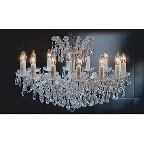 Maria Theresa Chandelier Crystal Pendant 14 Lights