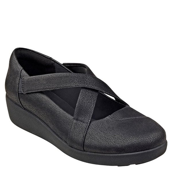 Easy Spirit Women's Karlette Wedge Slip On - 6.5